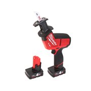Milwaukee M12 CHZ-402C Milwaukee 12v Fuel Brushless Hacksaw + 2 x 4.0Ah Batteries