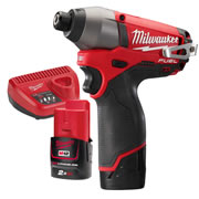 Milwaukee M12 CID 202-C Milwaukee 12V Fuel 2.0Ah Lithium-ion Brushless Impact Driver