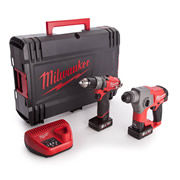 Milwaukee M12 CPP2B-602X Milwaukee 12v Fuel 2 Piece 6.0Ah Powerpack Kit
