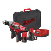 Milwaukee 4933459711 Milwaukee 12v Fuel Twinpack