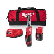 """Milwaukee M12FHIR38-201B Milwaukee M12FHIR38-201B 12V Fuel 3/8"""" Impact Wrench with 1 x 2Ah Battery, Charger and Bag"""
