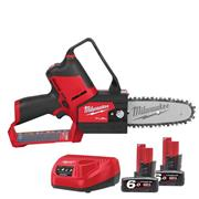 Milwaukee  Milwaukee M12 Fuel Hatchet Pruning Saw, with 2 x 6Ah Batteries and Charger