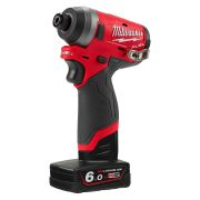 Milwaukee 4933464188 M12 Fuel Cordless Impact Driver Kit