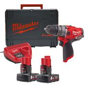 Milwaukee 4933459807 M12 Fuel Cordless Hammer Drill Driver