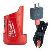 Milwaukee 4932459451 M12 Compact Travel Charger & Power Source
