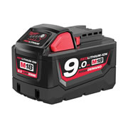 Milwaukee M18B9 Milwaukee 18v Li-ion 9.0Ah Battery