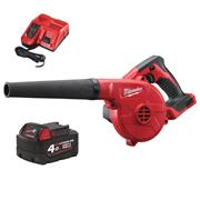 Milwaukee M18BBL M18 FUEL Blower with 4Ah Battery and Charger