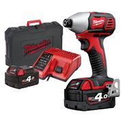 Milwaukee M18 BID 402 C Milwaukee 18v M18 Li-ion Impact Driver