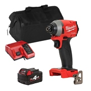 Milwaukee M18BIDITS 18v M18 Impact Driver with 1 x 4Ah Battery, Charger and Bag