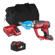 Milwaukee M18BMS2ITS Milwaukee M18 BMS2ITS 18V M18 Shears with 1 x 4Ah Battery, Charger and Bag