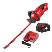 Milwaukee M18 CHT M18 FUEL Hedge Trimmer with 1 x 4Ah Battery and Charger