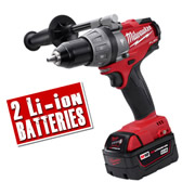 Milwaukee M18CPD402C Milwaukee Fuel 4.0Ah 18V Lithium-ion Hammer Drill/Driver