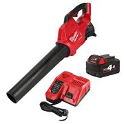 Milwaukee M18 FBL M18 FUEL Blower with 1 x 4Ah Battery and Charger