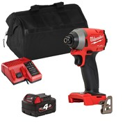 Milwaukee M18FID2ITS 18v M18 Fuel Impact Driver with 1 x 4Ah Battery, Charger and Bag