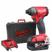 Milwaukee M18FID501X Milwaukee 18v Next Gen Fuel Impact Driver 1 x 5.0Ah Battery