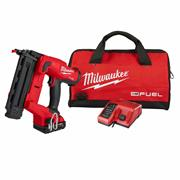 Milwaukee  Milwaukee M18 Fuel 18GS Straight Finish Nailer with 2 x 2Ah batteries, Charger and Case