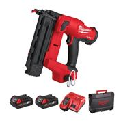 Milwaukee M18 FNCS18GS-202X M18 FUEL Narrow Crown Stapler with 2x 2Ah Batteries, Charger & Case
