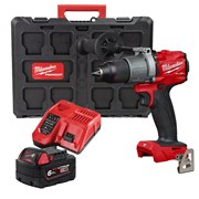 Milwaukee M18FPD2 Milwaukee M18 FPD2 Fuel Combi with 1 x 6Ah battery, Fast Charger and Packout Case