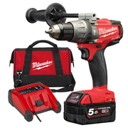 Milwaukee M18FPD501X Milwaukee 18v Next Gen Fuel Hammer Drill Driver 1 x 5.0Ah Battery