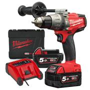 Milwaukee M18FPD502X Milwaukee 18v Next Gen Fuel Hammer Drill Driver