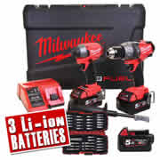 Milwaukee M18 FPP2A-503XB Milwaukee 18v Next Gen Fuel 2 Piece Kit