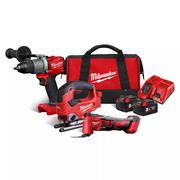 Milwaukee M18 FPP3K-502B Milwaukee M18 Triple Pack with 2 x 5Ah Batteries, Charger and Bag