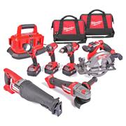 Milwaukee M18FPP6B-503BPK Milwaukee 18v FUEL RED Li-ion Brushless Cordless 6 Piece Kit