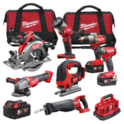 Milwaukee M18FPP7C503BPK 7 Piece FUEL Brushless Kit
