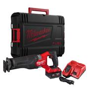 Milwaukee M18FSZ-501X Milwaukee M18 FSZ 18V FUEL Brushless Reciprocating Saw with 1x 5.0 Ah Battery, Charger and Case