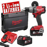 Milwaukee M18 ONE PD-502X Milwaukee 18v Fuel ONE KEY Hammer Drill Driver