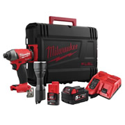 Milwaukee M18ONEPP2K-522K Milwaukee M18 ONEPP2K-522K M18 ONE-KEY Impact Driver + Torch Kit