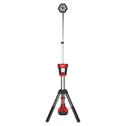 Milwaukee M18SAL0 Stand Light with 2 x 5Ah Batteries