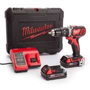 Milwaukee M18 SET1C-152C Milwaukee 18v Hammer Drill Driver (2 x 1.5ah Li-ion Batteries)