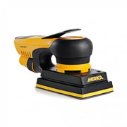 Mirka KIT1718CDMUK Mirka DEOS 81mm x 133mm Orbital Sander in Case & Abranet Strips