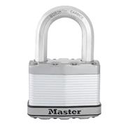 Master Lock MLKM15EURDLF Master Lock 64mm Excell Laminated Padlock 38mm Shackle 11mm Diameter