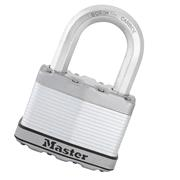 Master Lock MLKM1EURDLF Master Lock 45mm Excell Laminated Padlock 38mm Shackle 8mm Diameter