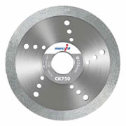 Marcrist 1125.0125.22 Marcrist CK750 Smooth Tile Blade 125mm