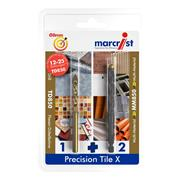 Marcrist 496501006 Precision Tile X 6mm Set