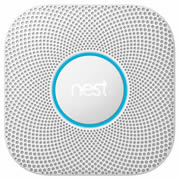 Nest S3000BWGB Nest Protect 2nd Generation Smoke & Carbon Monoxide Alarm - Battery