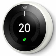 Nest T3020GB Nest Learning Thermostat, 3rd Generation - White