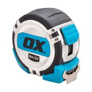 OX Tools OX-P028708 OX Pro Metric/Imperial 8m Tape Measure