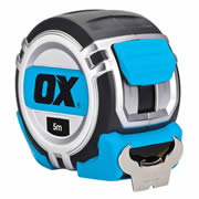 OX Tools P028905 Pro Heavy Duty Tape Measure 5m Metric