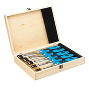 OX Tools P370505 OX Pro 5 Piece Wood Chisel Set