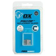 OX Tools P562701 POLYZIP Spare A Blades - Pack of 3