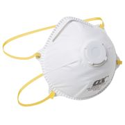 OX Tools OX-S240701 OX FFP1V Moulded Cup Valved Respirator - Pack of 10
