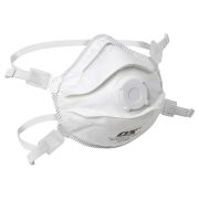 OX Tools OX-S241401 OX FFP3V Moulded Cup Valved Respirator - Pack of 5