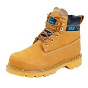 OX Tools S2425H Nubuck Safety Boots - Honey