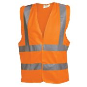OX Tools OX-S24270 Orange Hi Visibility Vest