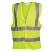 OX Tools OX-S242805 Yellow Hi Visibility Vest