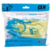 OX Tools OX-S245305 OX PPE Polybag Safety Kit